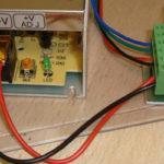 Схемы подключение светодиодной RGB ленты на 5, 10 и 20 метров