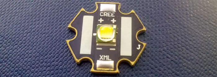 внешний вид Cree XM-L T6