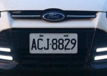 ДХО на светодиодах в Ford