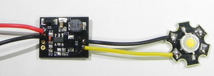 драйвер 3 ватного светодиода