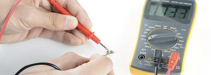 проверка LED тестером