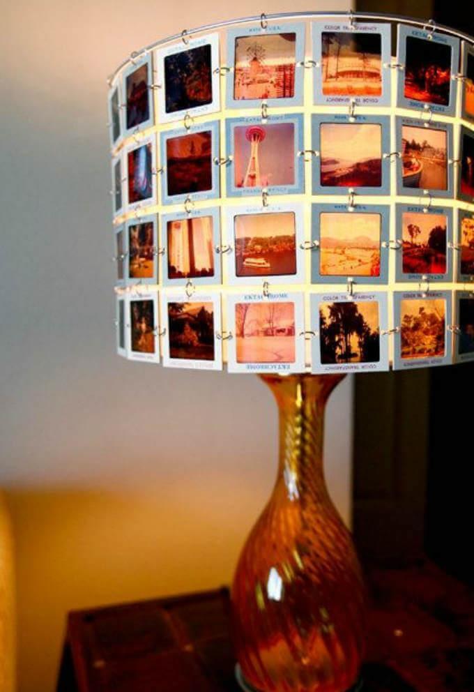 светильник-фотогалерея