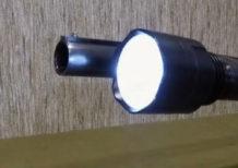 крепление для фонаря на стволе