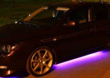 подсветка авто