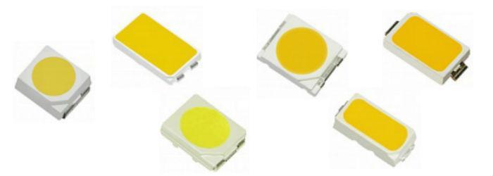 Технические характеристики LED SMD 5050 (datasheet на русском)