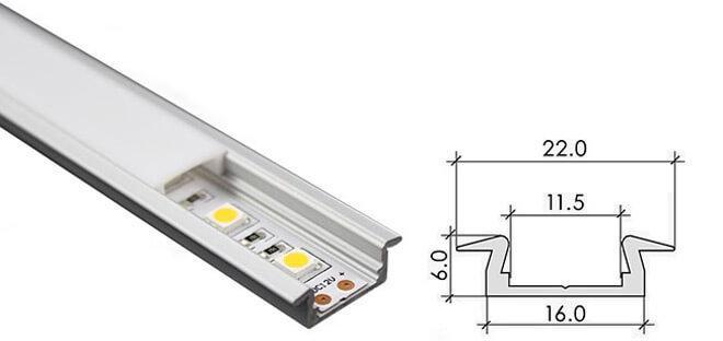 Профили для светодиодной ленты