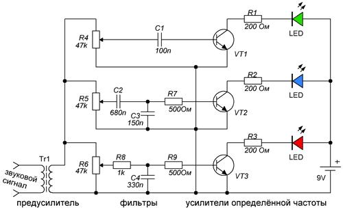трехканальная схема