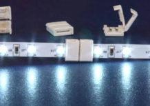 соединение светодиодной ленты