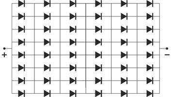 гибридная система соединения чипов матрицы
