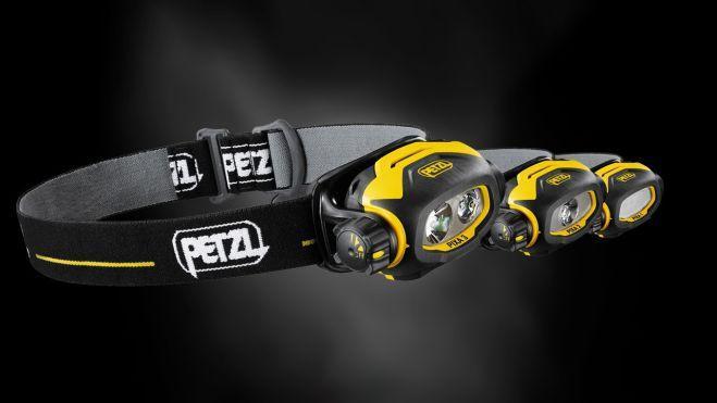 Наобный фонарь рыбака Petzl Pixa 3R
