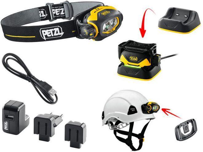 Аккумуляторный фонарь Petzl pixa 3
