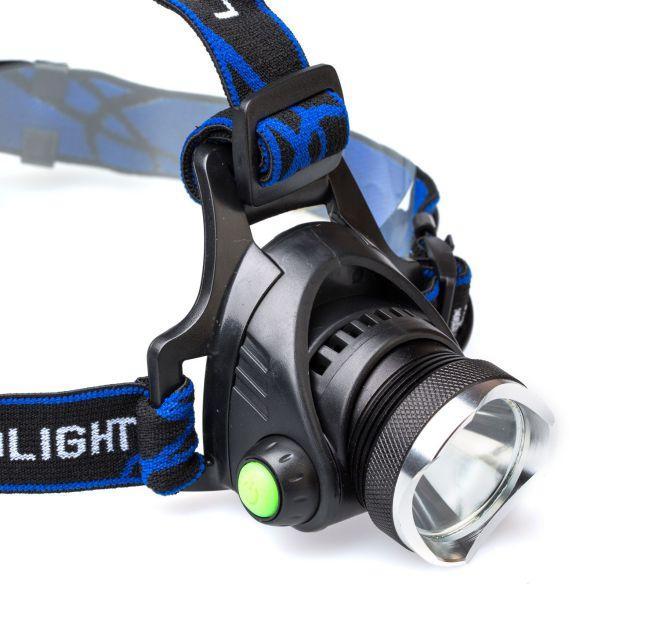 Светодиодный налобный фонарь для ночной рыбалки