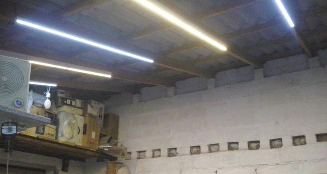 освещение LED-лентой