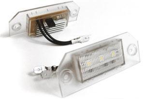 LED-плафоны подсветки номера