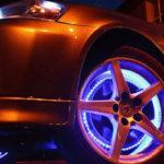 Подсветка колес автомобиля