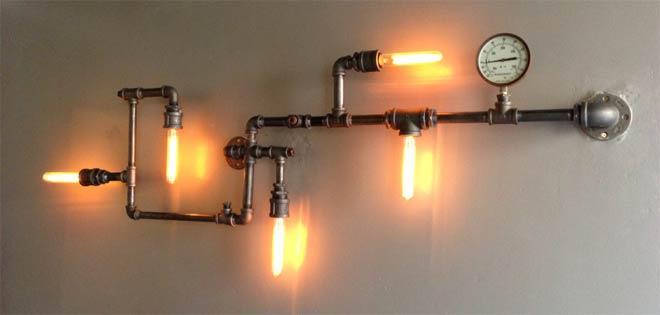 лофт лампа