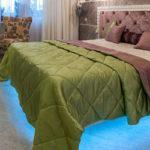Светодиодная подсветка кровати своими руками
