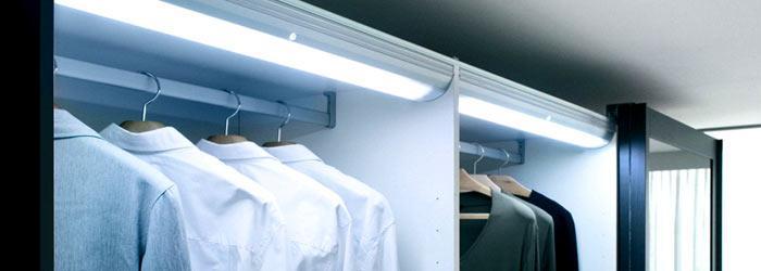 подсветка в шкафу