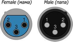 3 pin разъем