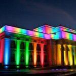 Разновидности светодиодной подсветки зданий и архитектурных сооружений